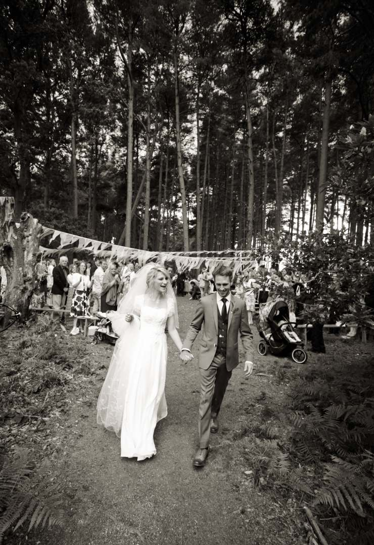 Forest Wedding Holton Lee